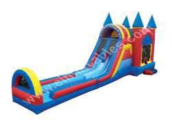 Bounce 'N' Double Dip Castle w/Dual Slide Lanes (Dry)