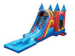 Bounce 'N' Double Dip Castle with Pool