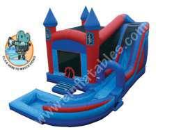 Jump 'N' Splash Castle with Pool