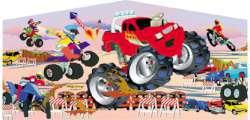 Monster Truck Panel
