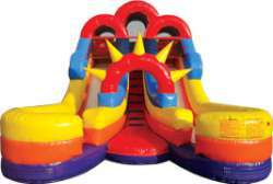 16ft Double Splash Water Slide