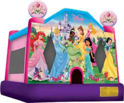 Disney Princess Medium Bounce House