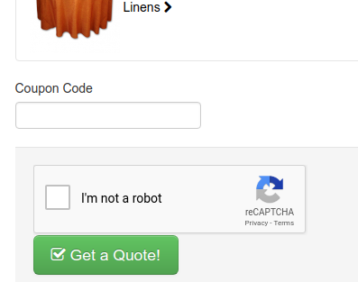Add Captcha to Quote Page to Reduce Spam | Quote Pages