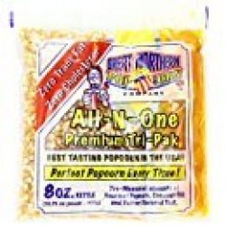 8 Oz Popcorn Packs-10 Servings