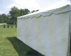 Tent Walls - Solid - Pole Tent 20'