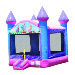 Pink-n-Purple Castle Bounce