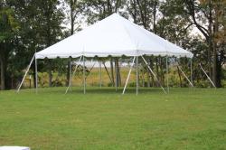 20 ft X 20 ft Pole Tent