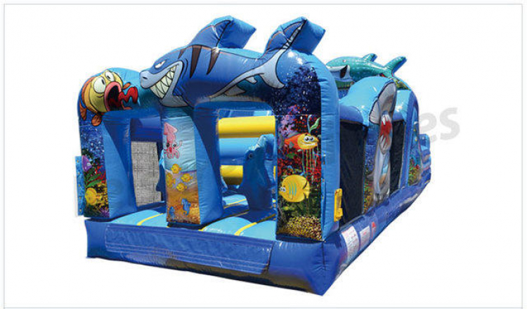 31' Under The Sea Obstacle Course