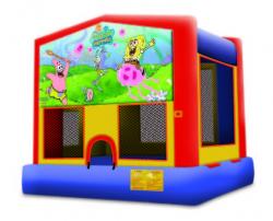 Sponge Bob Castle Bounce
