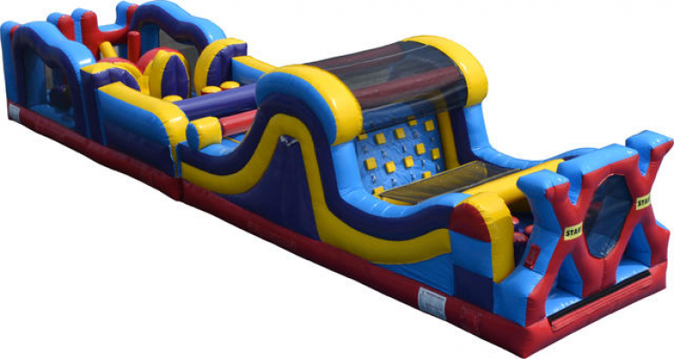 50' Extreme X Obstacle Course
