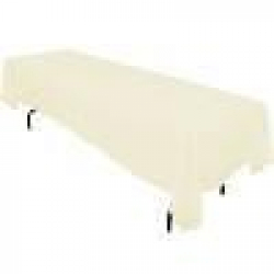 6' Tablecloth Lap Length (Ivory)