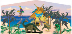 Dinosaur Castle Combo