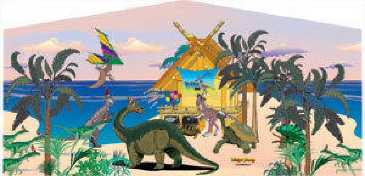 Dinosaur 4 in 1 Combo