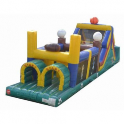 45' Dual Lane Obstacle Course