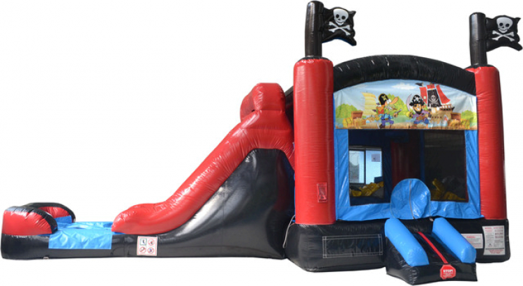 Pirate Water Slide and Bounce