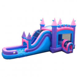Wet/Dry Pink Bounce 'n Slide Combo