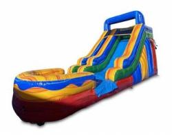 Crazy Colorful Wet/Dry Slide
