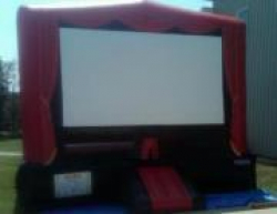 Movie Screen Bounce House