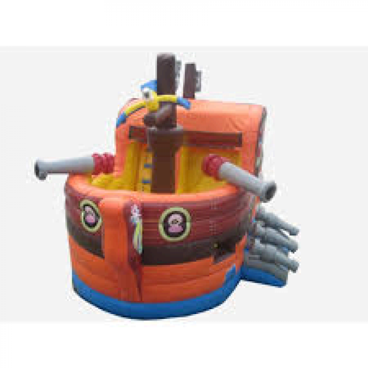Pirate Ship Slide and Combo