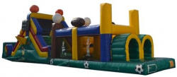 50' Sports Obstacle Course