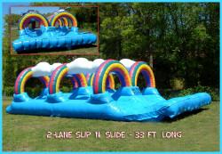 Rainbow Dual Slip n Slide