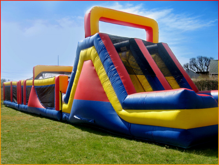 top notch obstacle course rental Cape Cod, MA