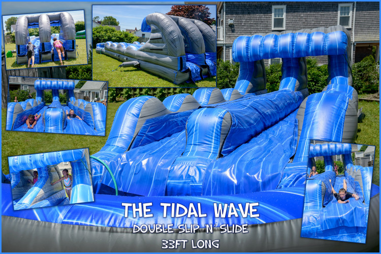 perfect water slide rental Cape Cod, MA