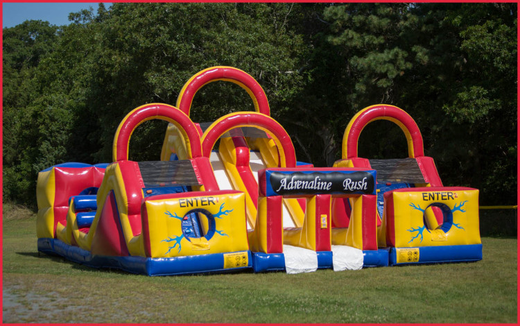 top notch obstacle course rental Pocasset, MA