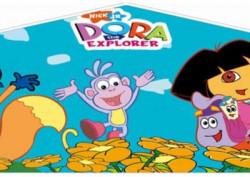 dora the explorer bounce house Themed Bouncer
