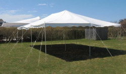 20x20 Pole Tent