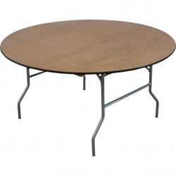 5 ft -  Round Table - 60