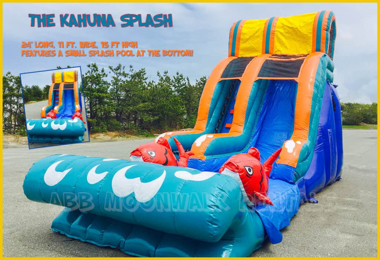 #1 water slide rental Cape Cod, MA