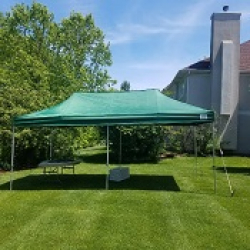 10x20 Pop-Up Frame Tent
