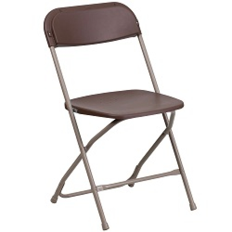 Brown Folding Chairs