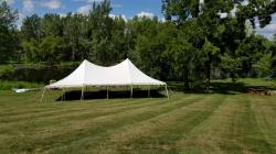30x50 Pole Tent