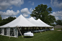 40x80 Elite High Peak Pole Tent