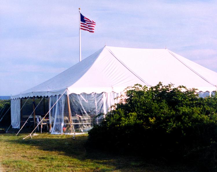 30x70 Pole Tent