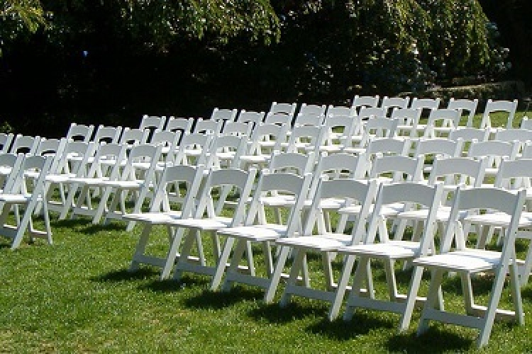 White Garden Chairs – Affordable Party Tent Rentals