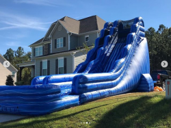 22' Blue Marble Crush Slide (DRY)