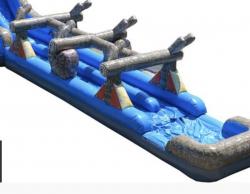 Log Mountain Slip & Slide