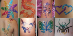Glitter Tattoo Artist (Minimum of 2 Hours)