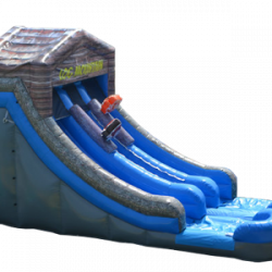 27' Log Mountain Dry Slide
