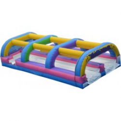 Double Lane Slip & Slide with 50' Hose