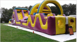 85' Obstacle Course