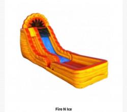 18ft Fire & Ice Slide