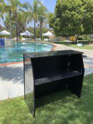 4ft Portable Bar (Black)