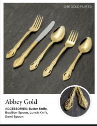 Abbey Gold Silverware