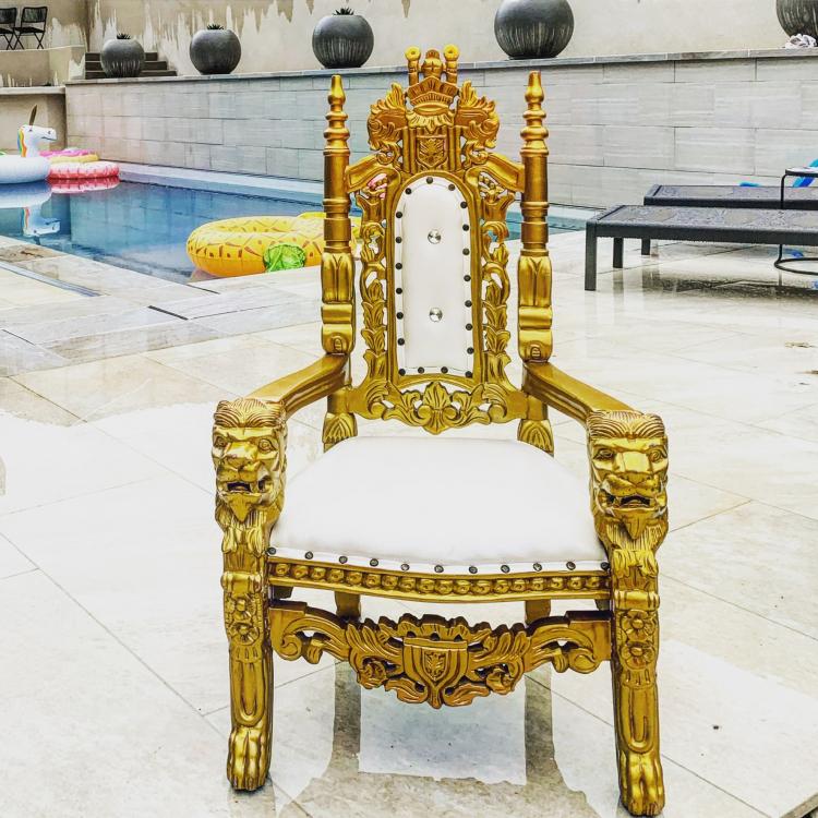 Kids Throne Chair