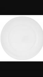 Plain White Plate