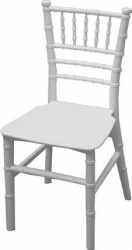 White Kids Chiavari Chair